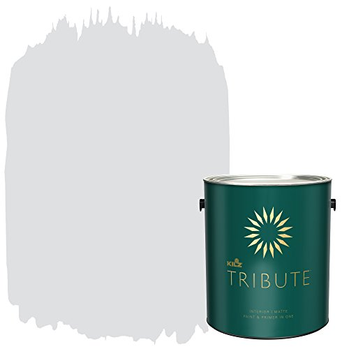 KILZ TRIBUTE Interior Matte Paint and Primer in One, 1 Gallon, Wind Chime (TB-41)