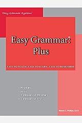 Easy Grammar Plus Revised Paperback