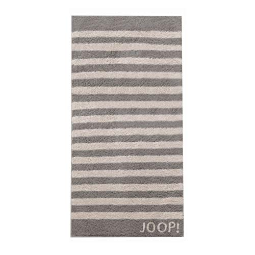 Joop! Handtuch Classic Stripes 1610 | 70 Graphit - 50 x 100