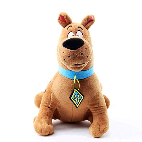 Scooby Doo Plush, 14-Inch Brown Cartoon Animal Doll, Funny Cartoon Children's Doll Room Sofa and Other Interior Decoration Plush Doll (Brown)