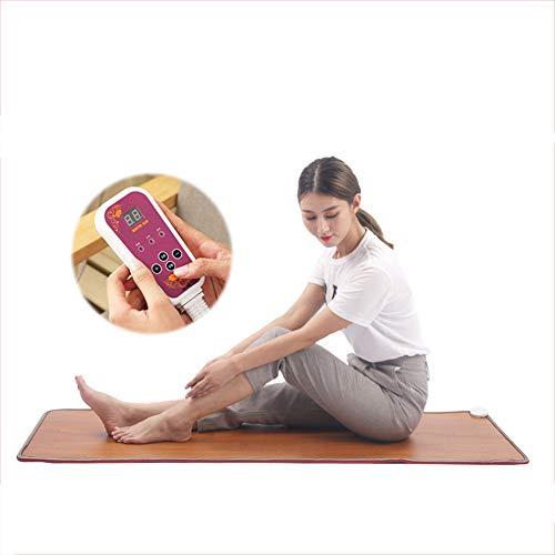 MMDYH Winter Warm Multifunktional Heizdecken Einstellbar Elektrische Fußbodenheizung Fußmatten Mit Schalter Wärmeplatte,30 * 50cm