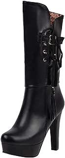 RAZAMAZA Women Sexy High Boots Platform Block High Heels