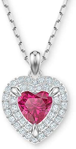 SWAROVSKI Crystal Red Heart Pendant Necklace product image