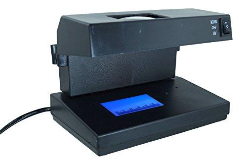 Detektor von Falschgeld, UV-Licht, neue Euro-Banknoten, Money Detector, AD 2138.