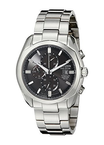 Citizen Men's CA0020-56E Eco-Drive Titanium Watch