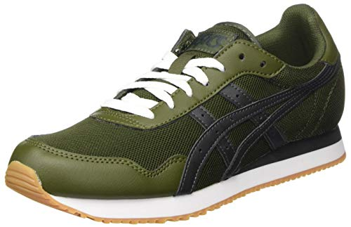 ASICS Tiger Runner, Zapatillas Hombre, Smog Green/Graphite Grey, 44 EU