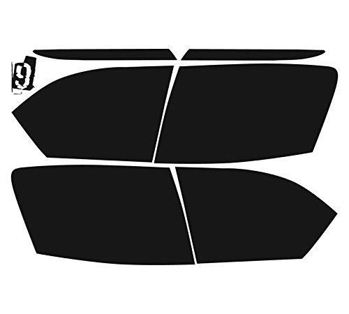 Subject 9 - Fits: Jetta Sedan Pre-Cut Vinyl Overlay Taillight Plus Tint (2011 2012 2013 2014) Dark