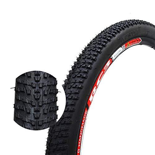 LHYAN Neumático de Bicicleta de 2 conteos, neumático de reemplazo de Perla Plegable 26x1.95 para la Bicicleta de montaña MTB