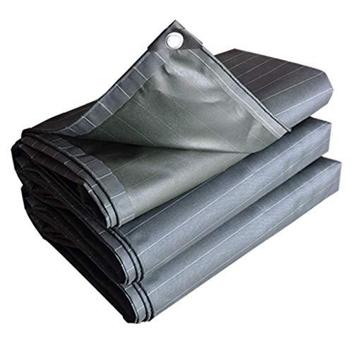 N/Z Equipo de Campamento Cubierta de Lona Plana Resistente - Poncho Protector Solar Impermeable y a Prueba de Viento para Carpas de Techo Cubierta de Piscina 550G / M2 0.5Mm (Tamaño: 4 * 6M) 5 * 6M