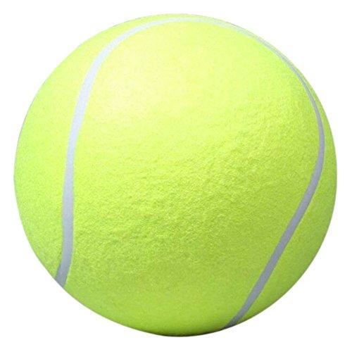 Demiawaking 9,5 Pollici Palla di Tennis Gigante per per Cani Animale Domestico Giocattolo Launcher