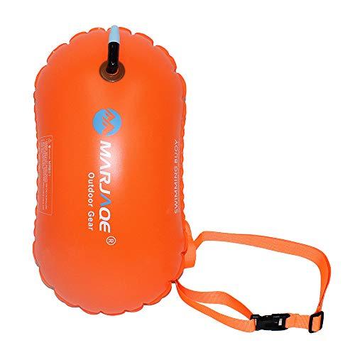 CXZC - Boya de natación de 20 L de seguridad en la natación, agua al aire libre y triatlón, para kayak, triatletas, surferos, natación