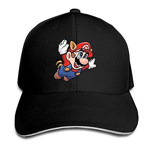 N \ A Super Mario Bros Unisex Hip Hop Baseball Caps Trucker Casquette El Snapback Sombreros Rosa