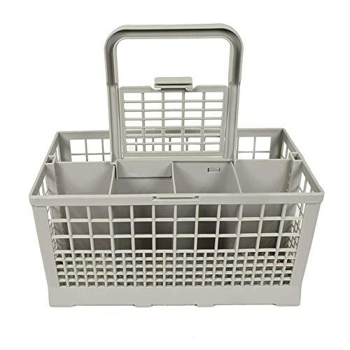 DBSUFV Caja de Almacenamiento Universal Cuadrada Ligera para lavavajillas portátil Cesta de Cubiertos para lavavajillas Europea Americana