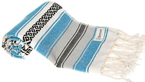 Bersuse Türkisches Handtuch von San Jose, 100% Baumwolle...