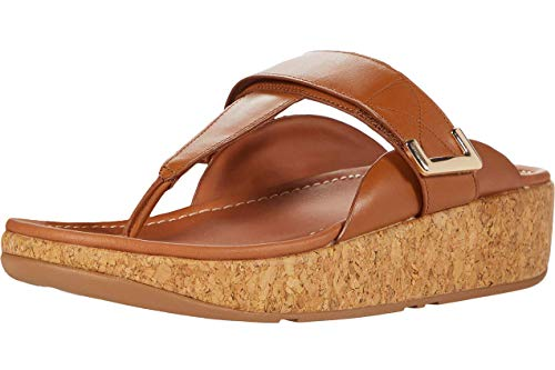 Fitflop Remi Adjustable Toe-Thongs, Sandalia Mujer
