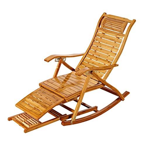 Chaise longue réglable Chaise longue de salon inclinable Chaise de repos en plein air Chaise pliante à bascule pour Patio
