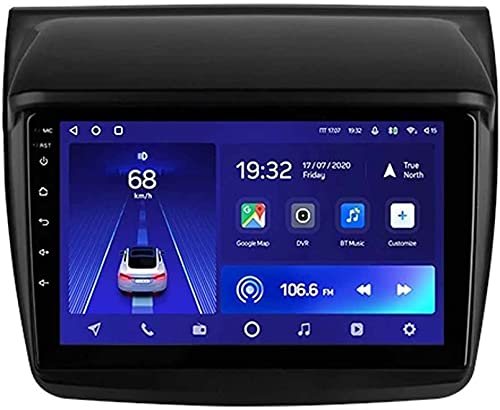 Android 10.0 Coche Estéreo Sat Radio De Nave Para Mitsubishi Pajero Sport 2 L200 2008-2016 Gps Navegación De Gps 9'''head Unit Touchscreen Mp5 Multimedia Playe(Size:Cuatro nucleos,Color:WIFI:2GB+32GB)