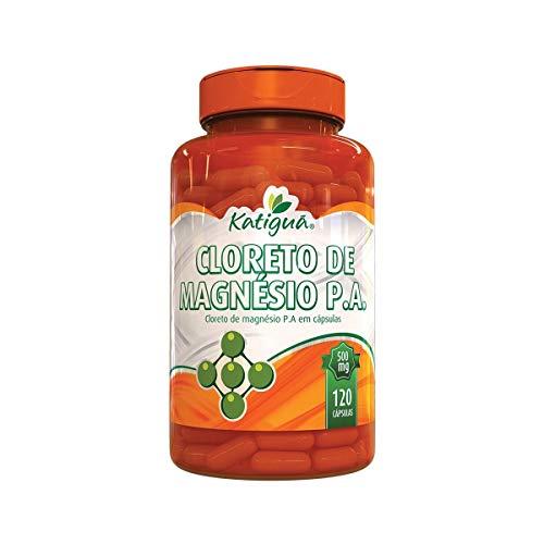 Cloreto de Magnésio P.A. - 120 cápsulas - Katigua