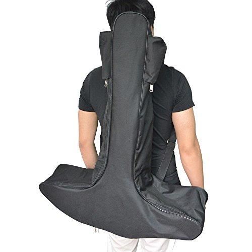 Milaem Bpgenschießen Bogen Koffer Canvas Tasche Schwarz Segeltuch Gepäck für Armbrust Bogen