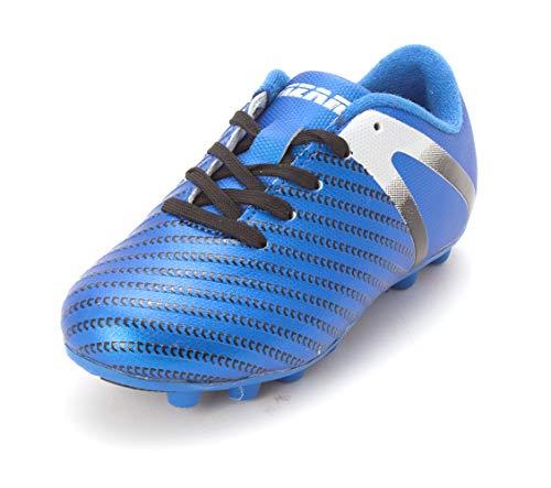 Vizari Baby Impact FG Soccer Shoe, Blue/Silver, 8.5 Regular US Toddler