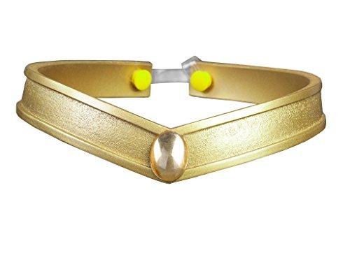 Cosfun Sailor Queen Kopfbedeckung/Diadem, Gold PVC Requisiten, Cosplay - Mehrfarbig - Einheitsgröße