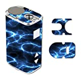 Decal Sticker Skin WRAP Blue Lightning Storm Electric for Eleaf iStick 10W Mini