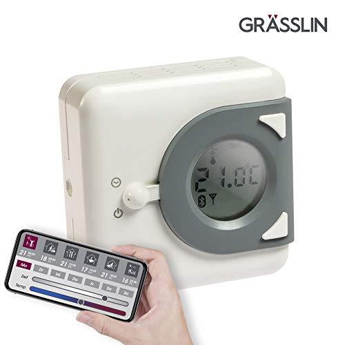 Grässlin 04.46.0023.1termostato digitale, bianco/grigio