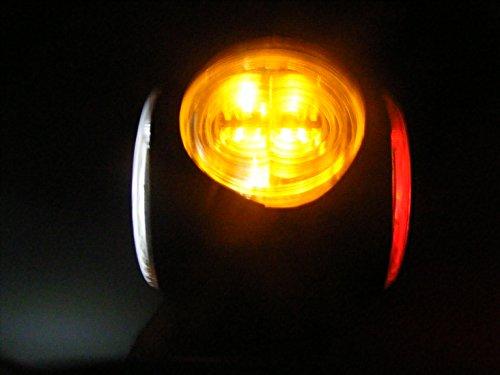 4 X24V FEUX DE GABARIT LATERAUX 9LED BLANC POUR CAMION CARAVANE CHASSIS Remorque