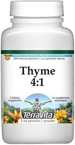 Max 48% OFF Thyme 4:1 Powder 1 ZIN: National uniform free shipping 521526 oz