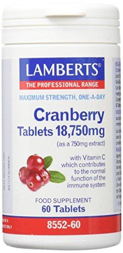 Lamberts Arandano Rojo 18750mg - 60 Tabletas
