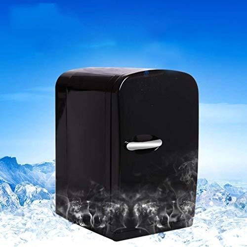 OutingStarcase 6L coche Mini refrigerador Estudiante residencia de Estudiantes Congelador turística electrónico portátil Frigorífico (Color: Negro)