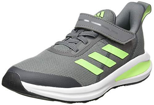 adidas Unisex-Kinder Fortarun EL K Sneaker, Gricua/Versen/Ftwbla, 34 EU