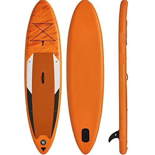 Zjcpow Tabla De Paddle Surf Sup Tabla De Surf Inflable De 330 * 81 * 15 CM, Tabla De Surf De Remo, Tabla De Surf para Deportes Acuáticos, Tabla De Sup Todos Los Niveles De Habilidad