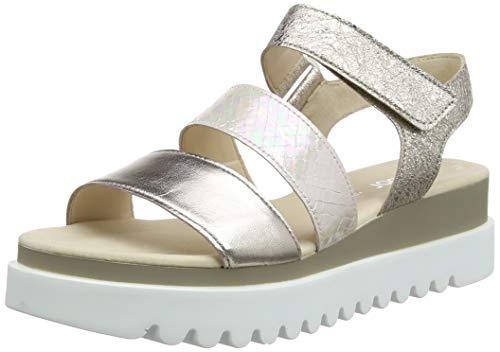 Gabor Shoes Damen Jollys Riemchensandalen, Beige (Muschel/Light Rose 64), 40.5 EU
