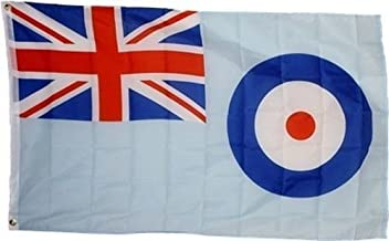 3x5 Royal Air Force Ensign Flag 3x5 RAF Banner Brass Grommets BEST Garden Outdor Decor polyester material FLAG PREMIUM Vivid Color and UV Fade Resistant