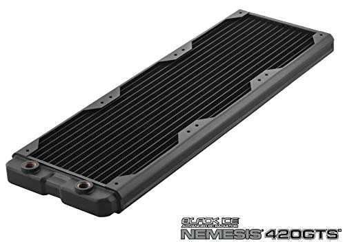 Black Ice Nemesis Radiator GTS 420 - Black
