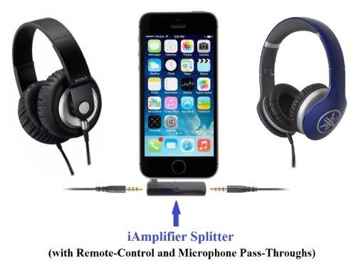 KOKKIA iAmplifier + Splitter : Der ultimative winzigste tragbare Kopfhörerverstärker + Splitter für iPhones/iPads/iPods, Samsung / Nokia / Android / Windows Smartphones, alle Musikgeräte usw.