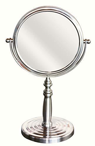 5. DecoBros 6-inch Tabletop Vanity Mirror