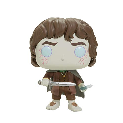 Funko Pop Movie : The Lord of The Rings - Frodo Baggins 3.9inch Vinyl Gift for Boys Fantasy Movie...