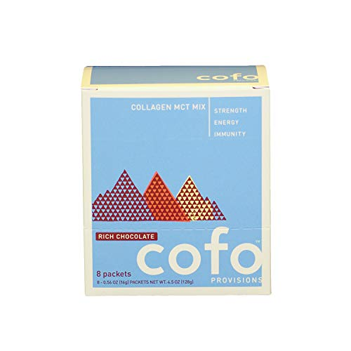New! Cofo Provisions Collagen MCT Mix Rich Chocolate