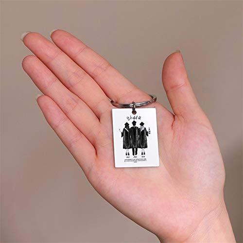 Vibner Collier hommeUn Porte-Clés Photo-Gravé.Médaille Personnalisée pour Chien.L'Arrière du Trousseau.Un Cadeau des Mariés À Son Petit Ami