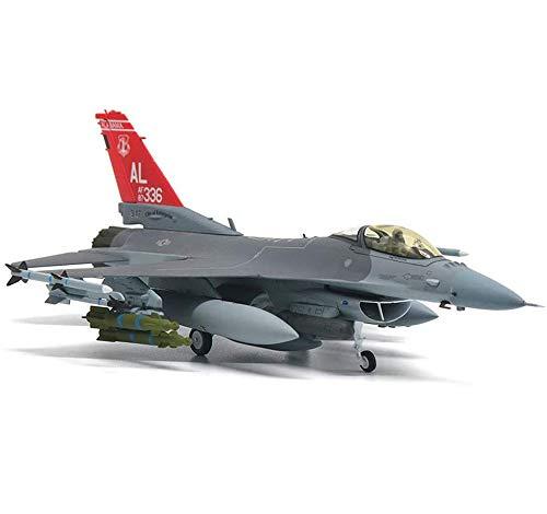 CMO Flugzeug Legierung Modelle, 1/72 Skala US F-16 C Fighting Falcon USAF Modelle, Spielzeug und Geschenke für Erwachsene, 8,1 x 5,7 Zoll