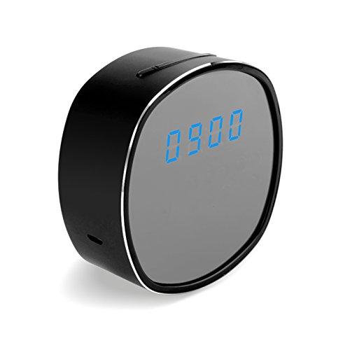 Mengshen® Alarma 1080P Seguridad Moda cámara ocultada del Reloj cámara de WiFi...