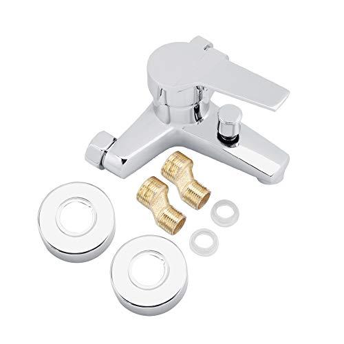 Aleación de zinc grifo de la ducha mezclador bañera grifo seguro montado en la pared fácil de instalar ducha mezcla grifo para lavabo
