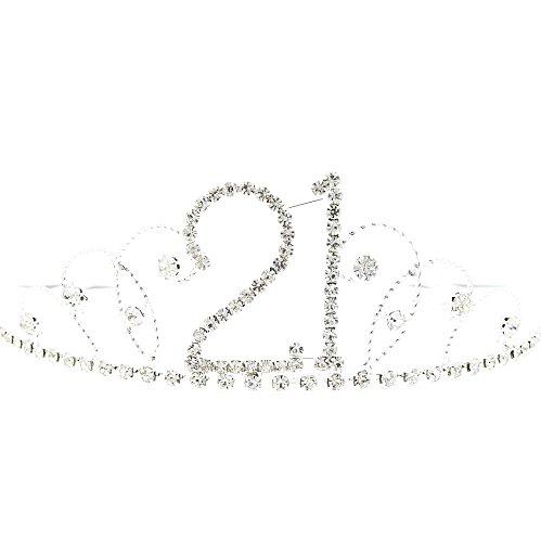 Cristal/Diamante 21e anniversaire Tiara
