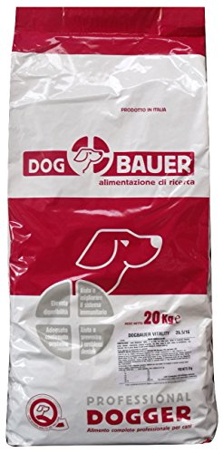 DOG BAUER alimentazione di ricerca Vitality - (20Kg) Crocchette per Cani Attivi