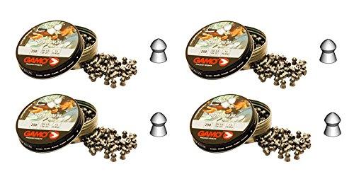 Gamo 4 latas de 250 perdigones Pro-Magnum de Copa-Punta 5,5mm. Modelo 321725