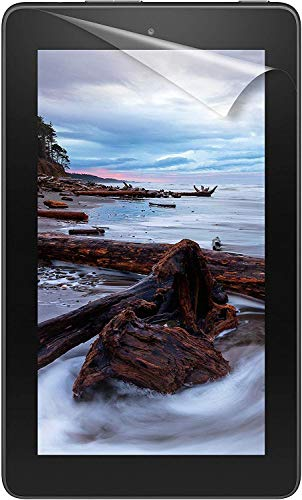 9H+ Flexible Nano Screen Protector for Fire HD 7 Tablet (9th and 7th Generation - 2019 and 2017 Released),No Bubble, Anti-Scratch Flexible Nano Glass 7 Inch Film By POLENArt
