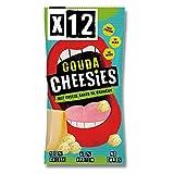Cheesies - Snack de Queso Crujiente, Gouda - Sin Gluten, Ceto, Sin Carbohidratos, Alto en Proteínas, , Vegetariano - 12 Bolsas de 20g