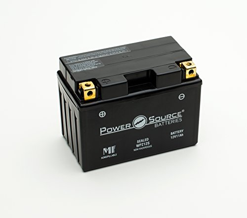YTZ12S, GTZ12S, PTZ12S, FTZ12S Replacement Battery 250cca High Performance WPZ12S Sealed AGM for Honda, Yamaha, BMW Motorcycle, Scooter